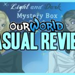 OURWORLD | A VERY CASUAL REVIEW ON 2016 LIGHT/DARK MYSTERY BOXES AND MONTHLY ITEMS